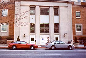 [color photograph of Thurgood Marshall Law Library, Baltimore, Maryland]