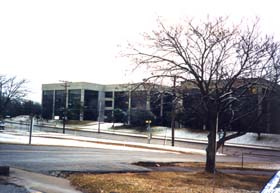 [color photograph of Tawes State Office Building (wings E & D)]