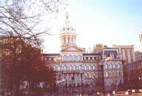 [color photograph of City Hall, Baltimore, Maryland]