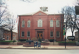 [color photograph of Harford County Courthouse]
