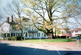 [Color photograph of Courthouse Square, Centreville, Maryland]
